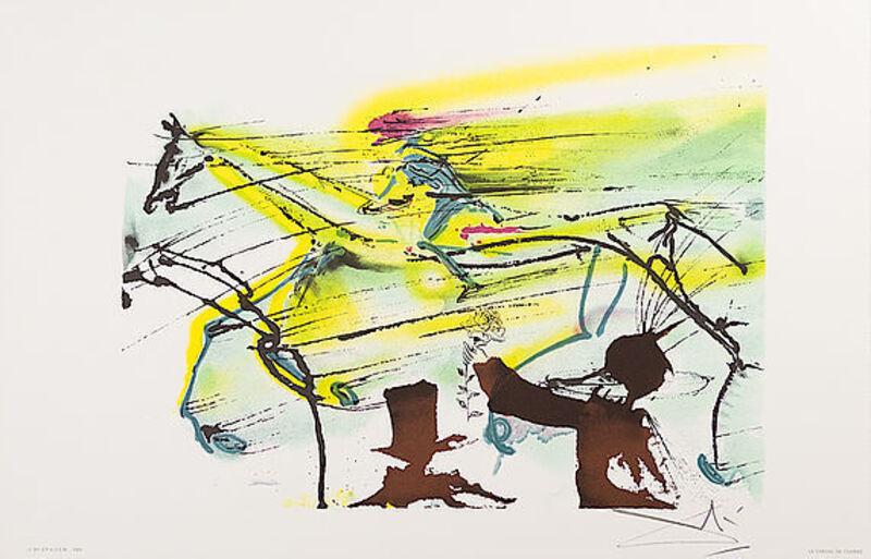 Salvador Dalí, 'Le Cheval De Course', 1983, Print, Lithograph, Viva la Vida Art Gallery