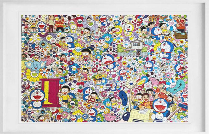 Takashi Murakami, 'Murakami Takashi Doraemon's limited edition Mosaic', 2019, Design/Decorative Art, Puzzel, 墨融 Mode Rose Art