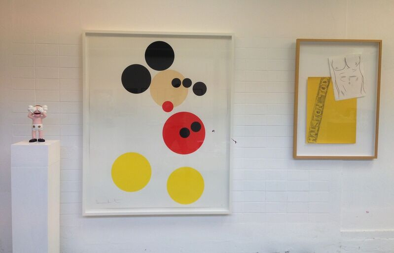 """Damien Hirst, 'Mickey"""" large version Ed. 50', 2014, Print, Screenprint with glaze, MultiplesInc Projects"""