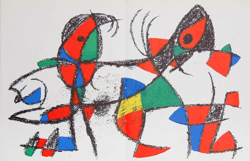 Joan Miró, 'Lithograph X (1046)', 1975, Print, Lithograph, RoGallery