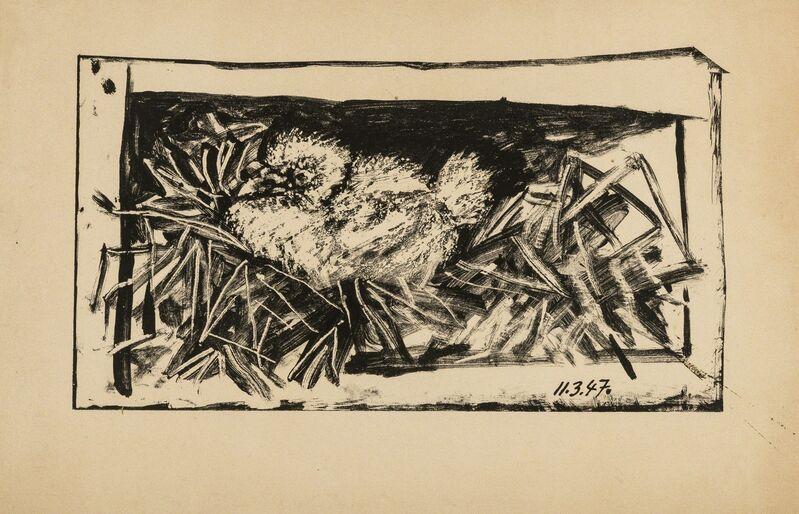 Pablo Picasso, 'Pigeonneau dans son nid (Bloch 427; Mourlot 71)', 1947, Print, Lithograph, Forum Auctions