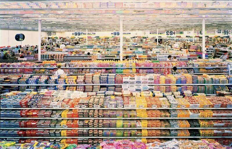 Andreas Gursky, '99 cent', 1999, Photography, Cibachrome print, MOCA