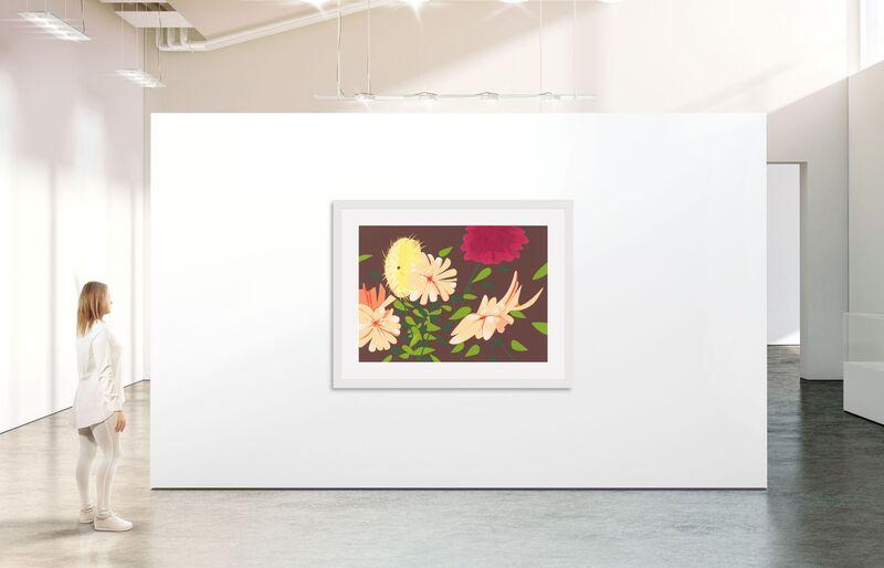 Alex Katz, 'Late Summer Flowers', 2013, Print, 38-color silkscreen on 4-ply museum board, Betsy Senior Fine Art