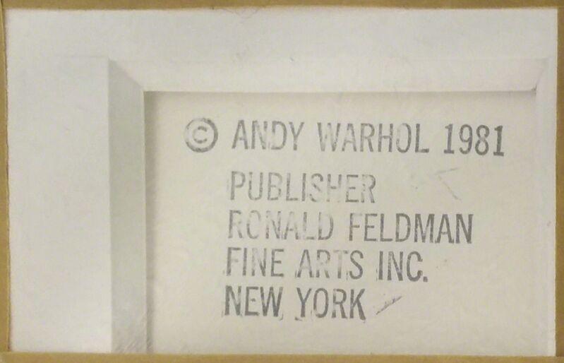 Andy Warhol, 'MYTHS: HOWDY DOODY FS II.263', 1981, Print, SCREENPRINT ON LENOX MUSEUM BOARD WITH DIAMOND DUST, Gallery Art