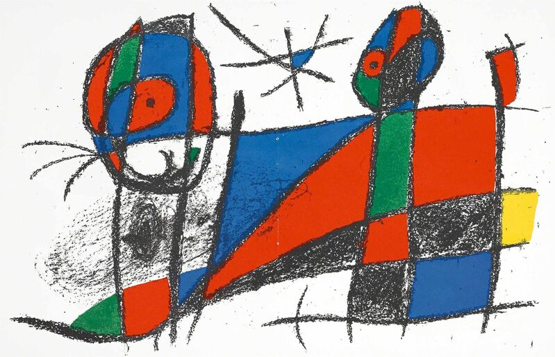 Joan Miró, 'Untitled (Lithographe II, M.1042)', 1975, Print, Lithograph, Martin Lawrence Galleries