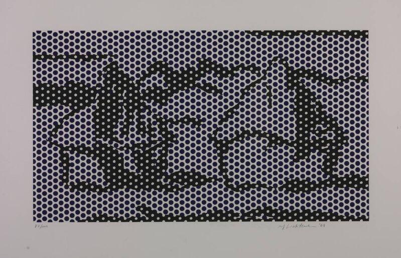 Roy Lichtenstein, 'Haystack #7', 1969, Print, Silkscreen on paper, Taglialatella Galleries