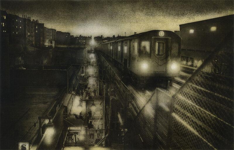 Peter Liepke, 'Bronx Bound #4', Photography, 8x10 Platinum/Palladium    16x20 Gum Bichromate, Gallery 270