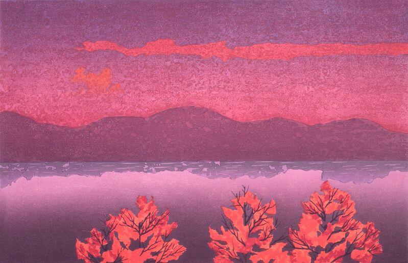 Keiji Shinohara, 'Twilight', 2012, Print, Woodcut, Garvey | Simon
