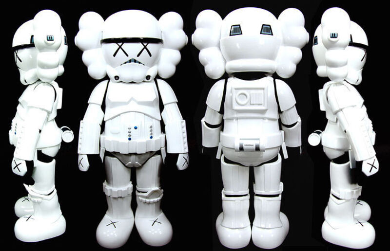 KAWS, 'Stormtrooper', 2008, Sculpture, Cast vinyl, Dope! Gallery