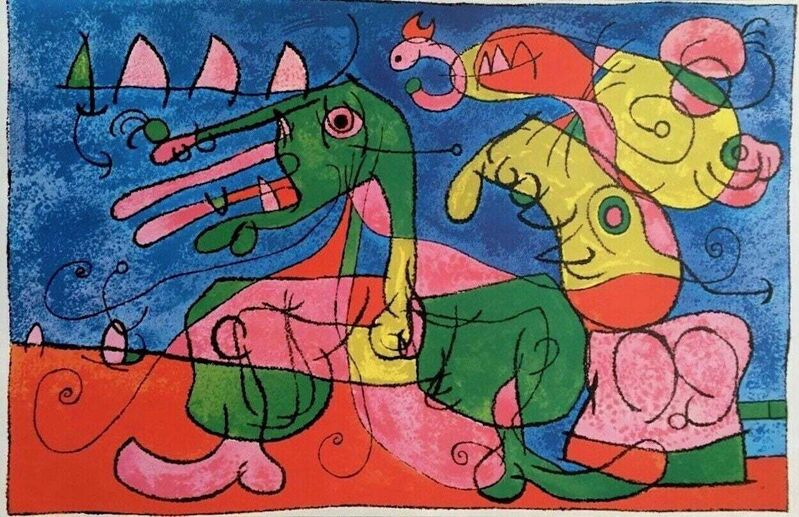 Joan Miró, 'Ubu Roi', 1965, Posters, Offset lithograph on wove paper, Art Commerce