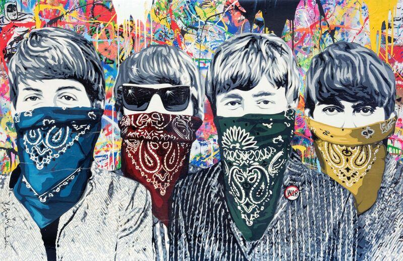 Mr. Brainwash, 'Bandidos', 2012, Mixed Media, Stencil and Mixed Media on Canvas, Taglialatella Galleries