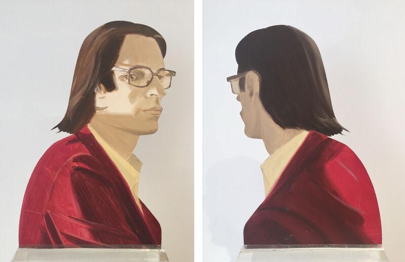Alex Katz, 'Michael', 1977, Sculpture, Oil on shaped aluminum, Upsilon Gallery