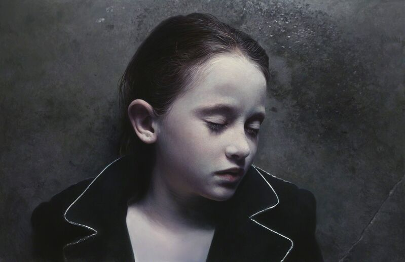 Gottfried Helnwein, 'Murmur of the Innocents 23', 2011, Painting, Mixed media (oil & acrylic) on canvas, Modernism Inc.