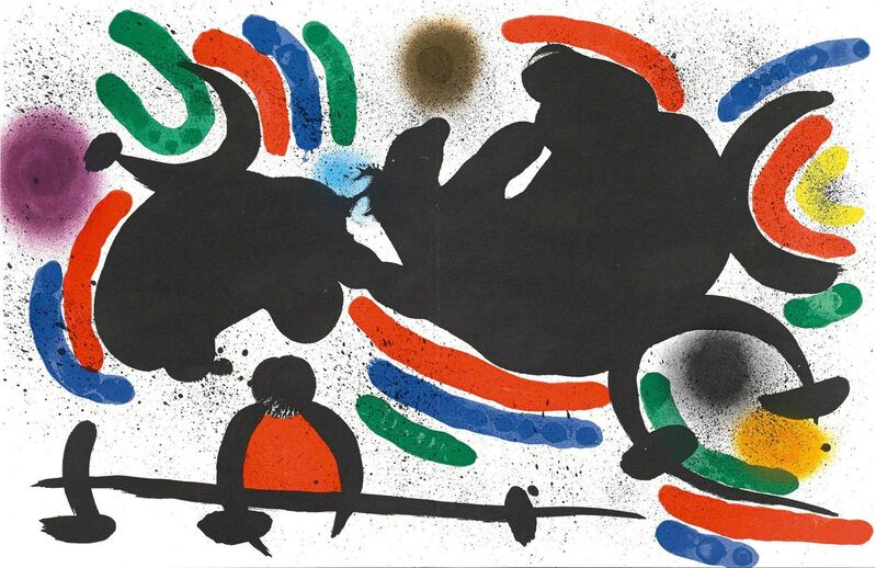 Joan Miró, 'Untitled (Lithographe I, M.860)', Print, Martin Lawrence Galleries