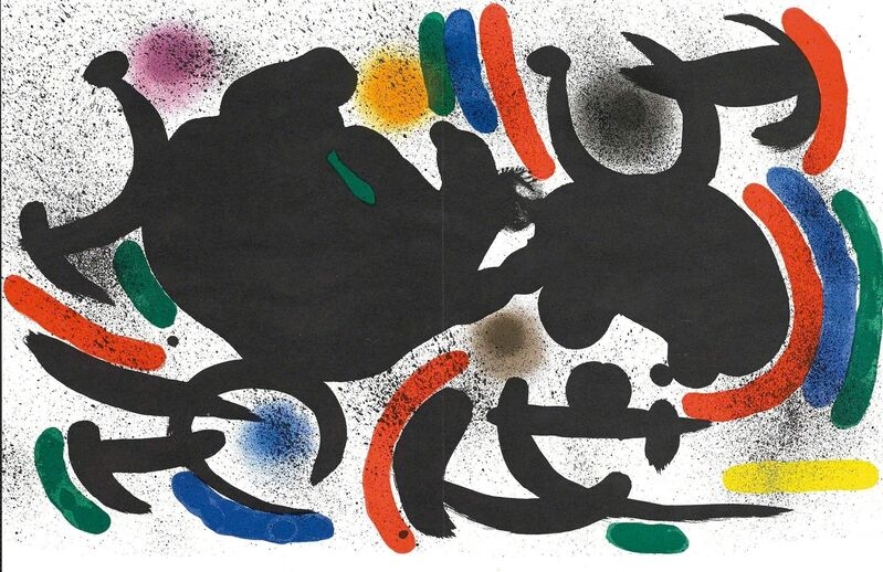 Joan Miró, 'Untitled (Lithographe I, M.863)', Print, Lithograph, Martin Lawrence Galleries
