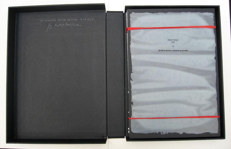 Rubén Tortosa, 'El libro de los 7 voceros y un vals (The Book of the 7 Spokesmen and a Waltz)', 2007, Books and Portfolios, Images transferred on latex, varnish and paper, SET ESPAI D'ART