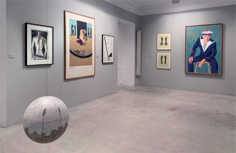 David Hockney, 'Matelot Kevin Druez 1', 2009, Drawing, Collage or other Work on Paper, Inkjet printed computer drawing on Dibond, Michel Soskine Inc.