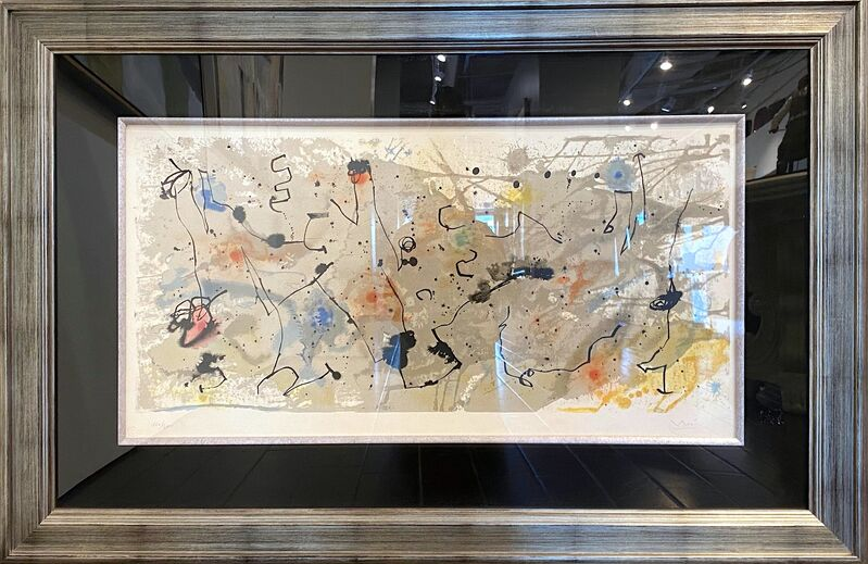 Joan Miró, 'Graphismes (M.1721)', 1961 , Print, Color lithograph on Arches paper, Off The Wall Gallery