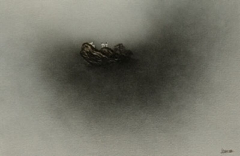 Sanzi, 'Cloudy as a Partner', 2010, Painting, Oil on canvas, Taglialatella Galleries