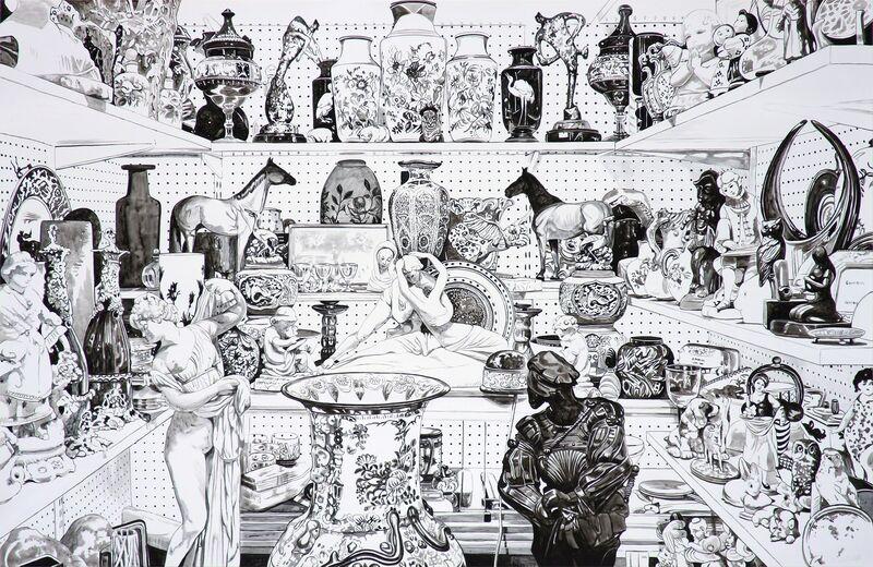 Sherrie Wolf, 'Portobello II', 2019, Painting, Russo Lee Gallery