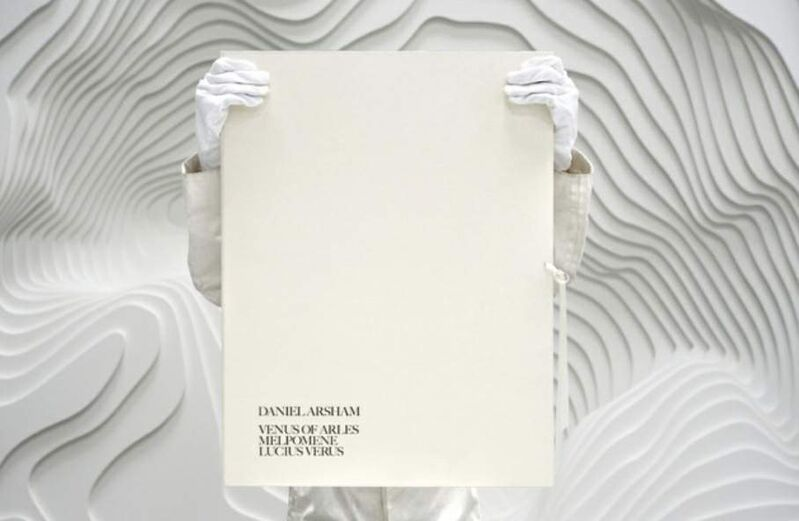 Daniel Arsham, 'Eroded Classical Prints', 2020, Print, 8 Color Screen Print on Archival 100% cotton paper, U Square