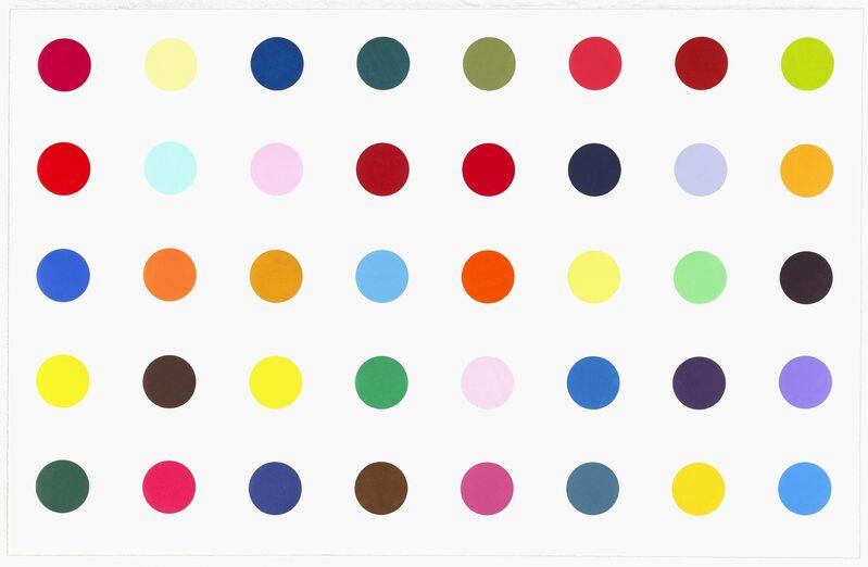 Damien Hirst, 'Methyl Phenylsulfoxide', 2010, Print, Woocut, Vogtle Contemporary