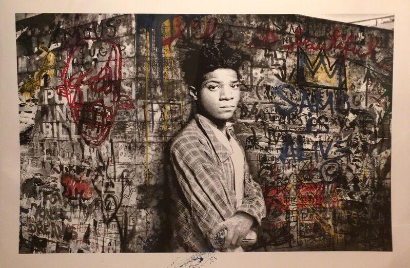 Mr. Brainwash, 'SAMO is Alive', 2016, Print, Serigraph on paper, DANE FINE ART
