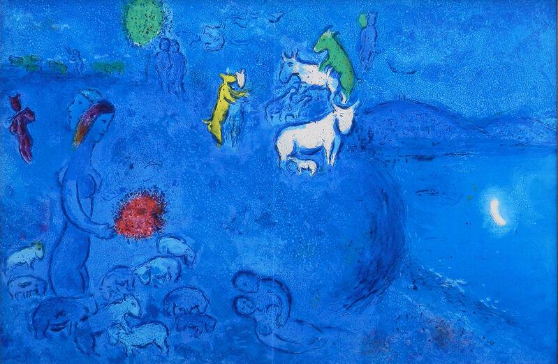 Marc Chagall, 'Daphnis  et Chloe: Le Printemps ', 1961, Print, Lithograph, Gallery Suiha