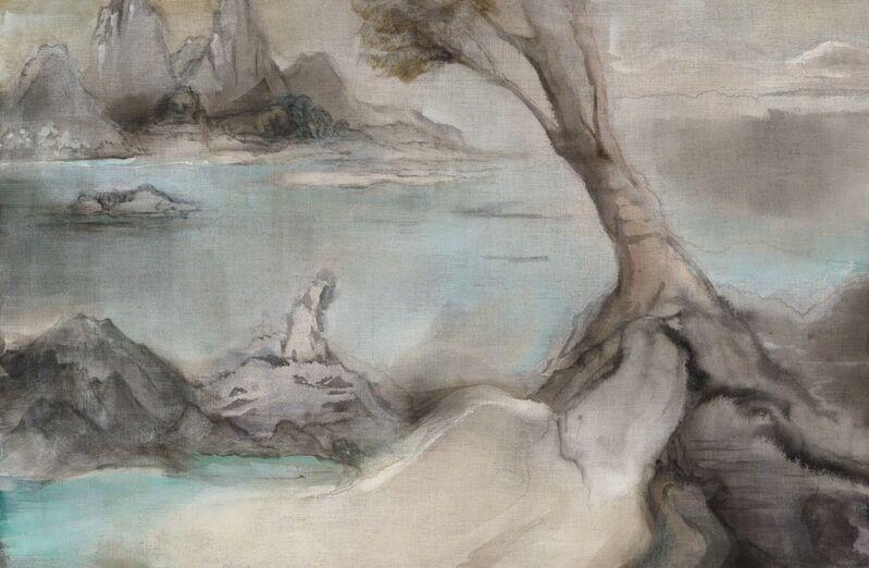 Leiko Ikemura, 'Zarathustra II', 2014, Painting, Pigment on jute, Rena Bransten Gallery