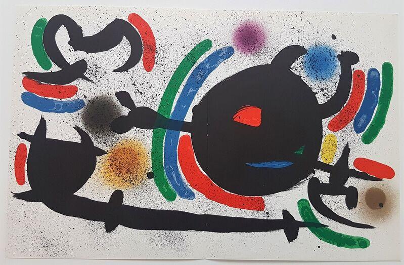 Joan Miró, 'Litografia Original X', 1975, Print, Color Lithograph, Cerbera Gallery