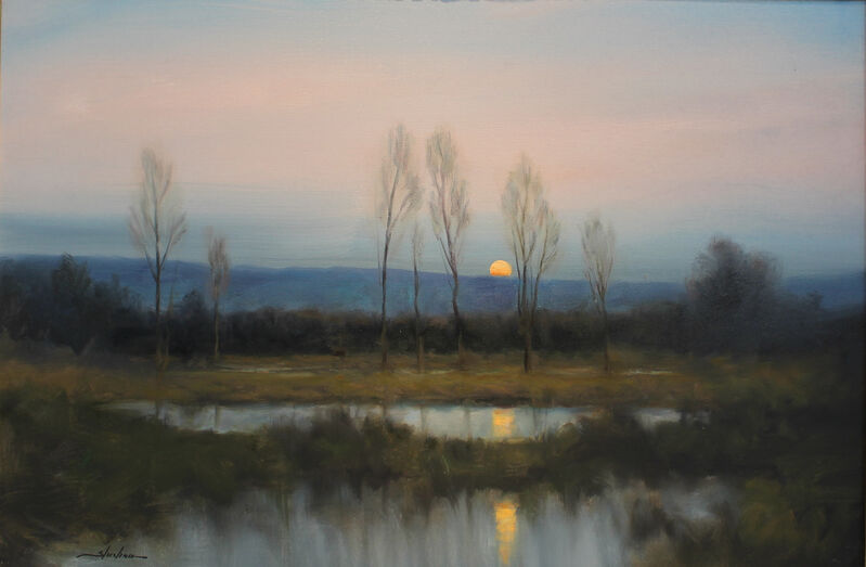Dennis Sheehan, 'Into the Calm', 2021, Painting, Oil on canvas, Lily Pad West