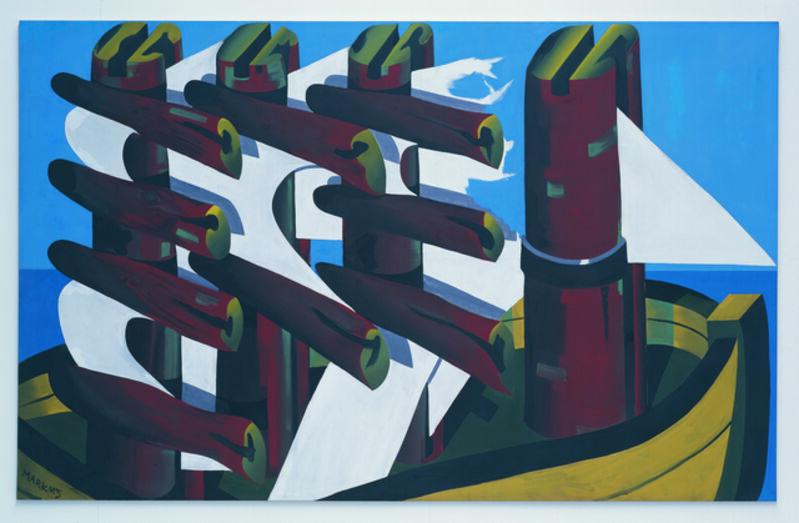 Markus Lüpertz, 'Gescheiterte Hoffnung (Failed Hope)', 1967, Painting, Musée d'Art Moderne de la Ville de Paris