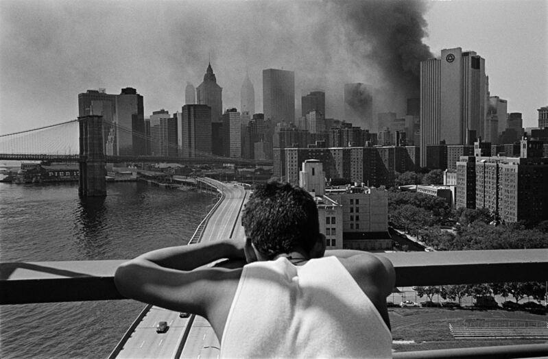 Joseph Rodriguez, 'Manhattan Bridge, East River, New York', 2001, Photography, Silver gelatin print, Galerie Bene Taschen