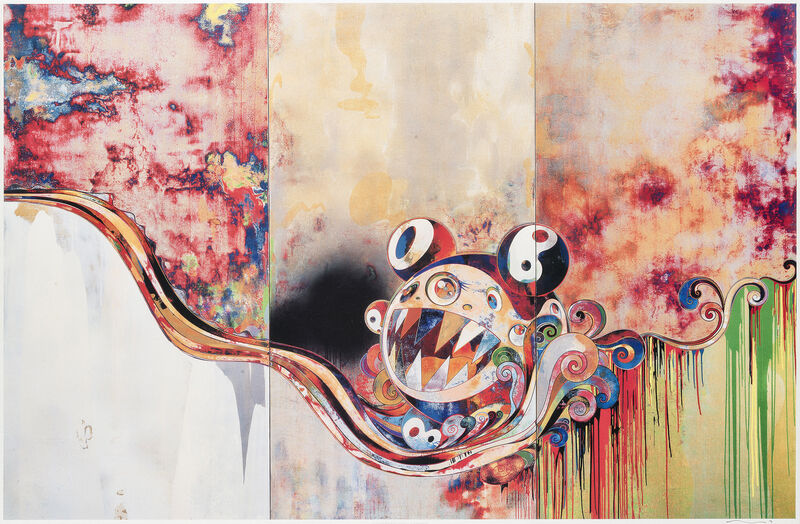 Takashi Murakami, '727-272', 2007, Print, Offset lithograph in colours on paper, Tate Ward Auctions