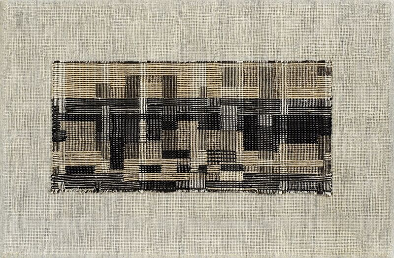 Anni Albers, 'City', 1949, Linen and cotton pictorial weaving, Art Resource