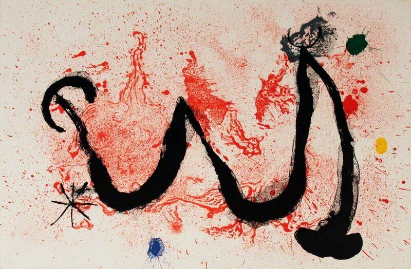Joan Miró, 'La Danse de Feu', 1963, Ephemera or Merchandise, Stone Lithograph, ArtWise