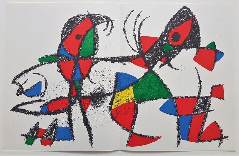 Joan Miró, 'Lithographie Originale X', 1977, Print, Color Lithograph, Cerbera Gallery