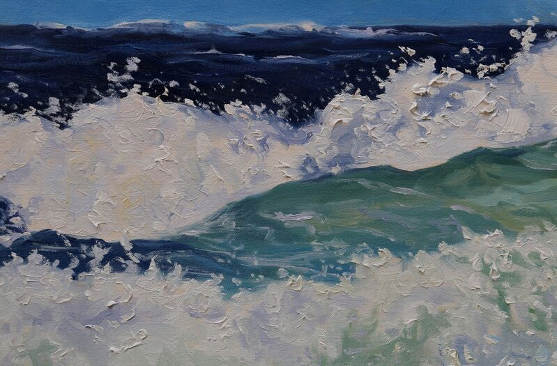 Terrill Welch, 'Wild Seas', 2021, Painting, Oil on canvas, Terrill Welch Gallery