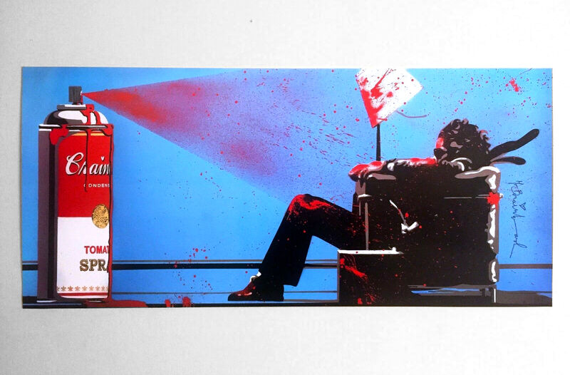 Mr. Brainwash, 'Max Spray, Signed', 2010, Print, Offset Lithograph, The Untitled Space