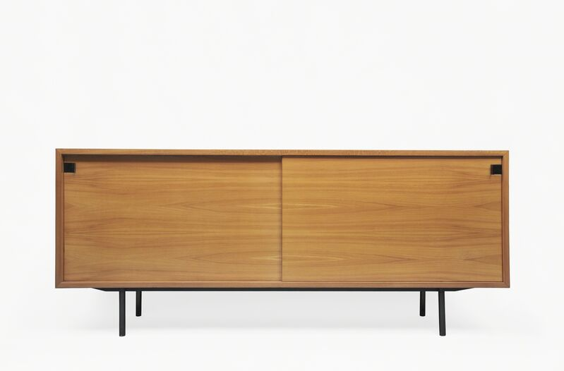 Alain Richard, 'Sideboard 196', 1953-1954, Design/Decorative Art, Lacquered metal, patined Zamack and elm, Galerie Pascal Cuisinier