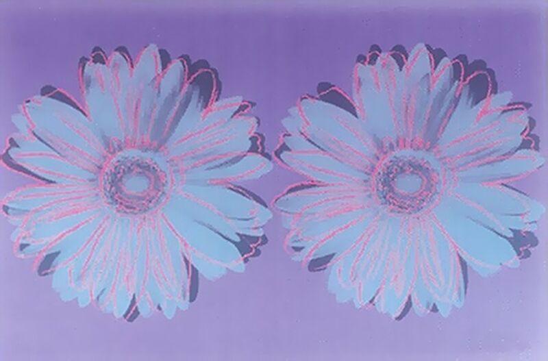 Andy Warhol, 'Daisy (double)', ca. 1982, Print, Unique screenprint, Hamilton-Selway Fine Art