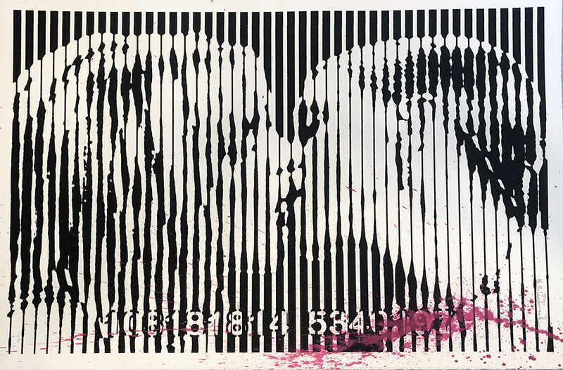 Mr. Brainwash, 'Freedom Kiss (Pink Splash)', 2008, Print, Screenprint, Vanessa Villegas Art Advisory