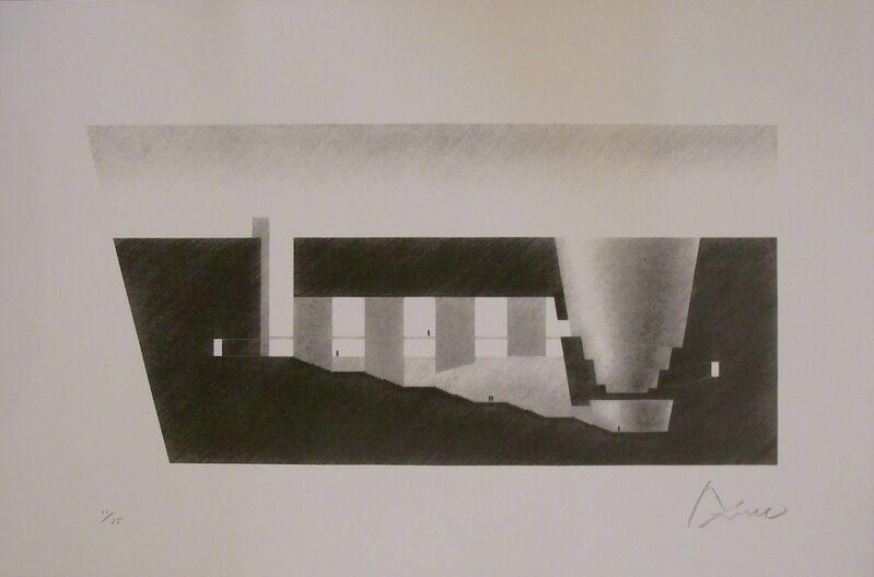 "Tadao Ando, '""The Theater in the Rock, Oya I""', 1998, Print, Screenprint, Watanuki Ltd. / Toki-no-Wasuremono"