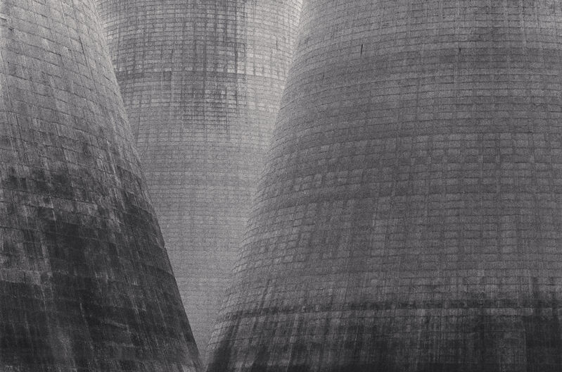 Michael Kenna, 'Ratcliffe Power Station, Study 34, Nottinghamshire, England, 1985', 1985, Photography, Sepia-toned silver gelatin print mounted to archival substrate, Bau-Xi Gallery