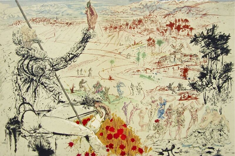 Salvador Dalí, 'The Golden Age', 1957, Print, Stone Lithograph on Japon Imperial paper, Art Commerce