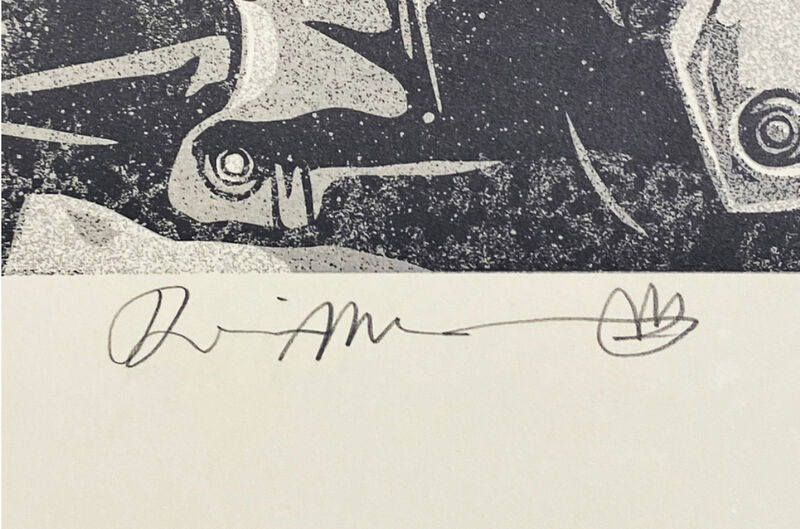 Shepard Fairey, 'Soul Rebel', 2021, Print, LETTERPRESS on Cream Cotton Rag FINE ART Paper with Hand-Deckled Edges, AYNAC Gallery