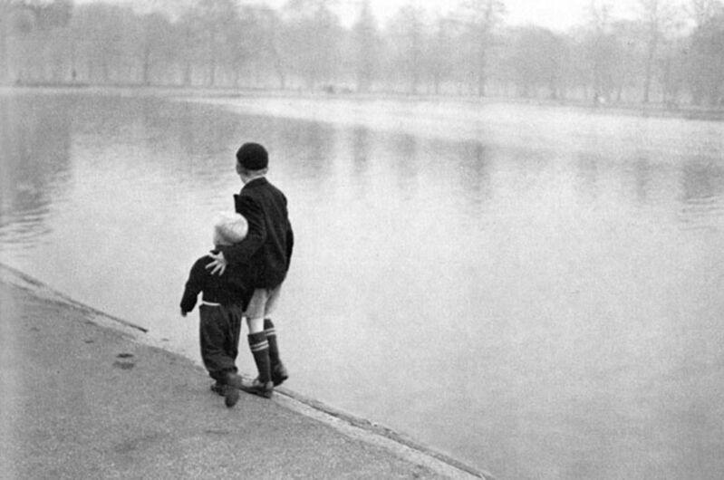 Ruth Orkin, 'Brothers, Hyde Park, London', 1951, Photography, Photograph, Cavalier Ebanks Galleries