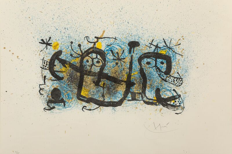 Joan Miró, 'Ma de proverbis', 1970, Print, Lithograph in colors on wove paper, Heritage Auctions
