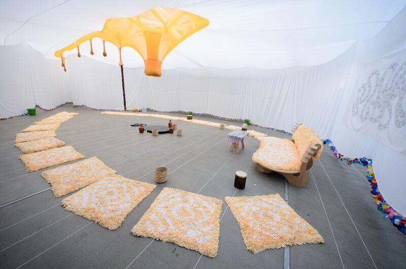 Ernesto Neto, 'Em Busca do Sagrado Gibóia Nixi Pae', 2014, Installation, Installation, Instituto Tomie Ohtake