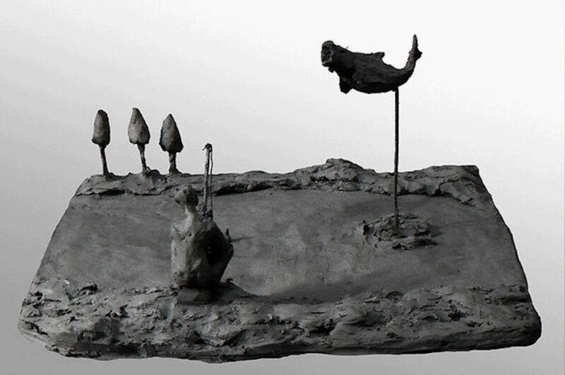 Won Lee, 'Play Ground #9- Fish', 2011, Sculpture, Bronze, Isabella Garrucho Fine Art